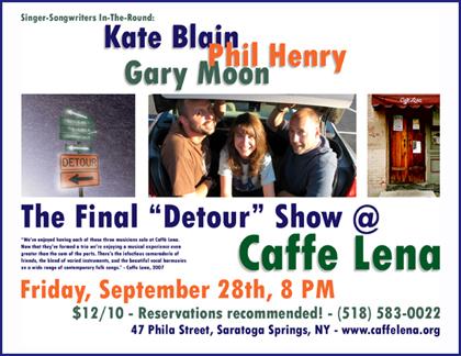 Caffe Lena Web Poster