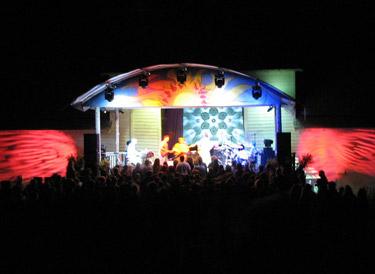 Solarfest stage